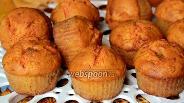 Фото рецепта Кексы тыквенно-апельсиновые