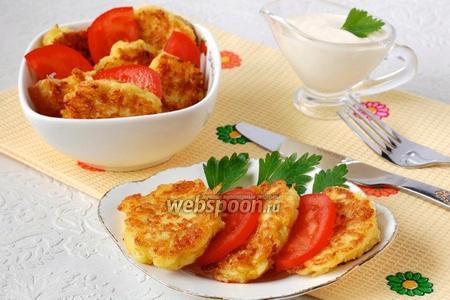Луково-сырные лепёшки