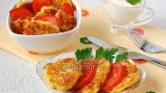 Фото рецепта Луково-сырные лепёшки