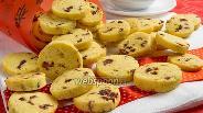 Фото рецепта Печенье с сушёной клюквой