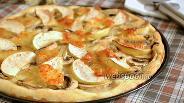 Фото рецепта Пицца с шампиньонами