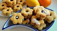 Фото рецепта Печенье с вареньем «Англси»