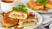 Фото рецепта Картофельные зразы с мясом
