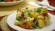Фото рецепта Цветная капуста с пивом и сухариками