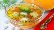 Фото рецепта «Золотистый» суп с тыквой и фрикадельками