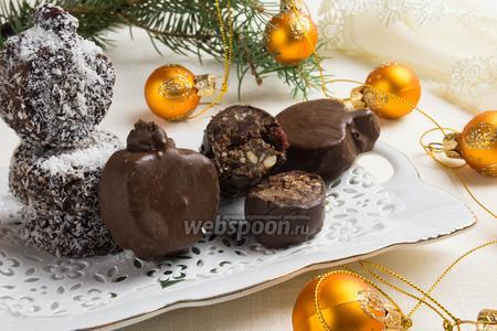 Шоколадный туррон