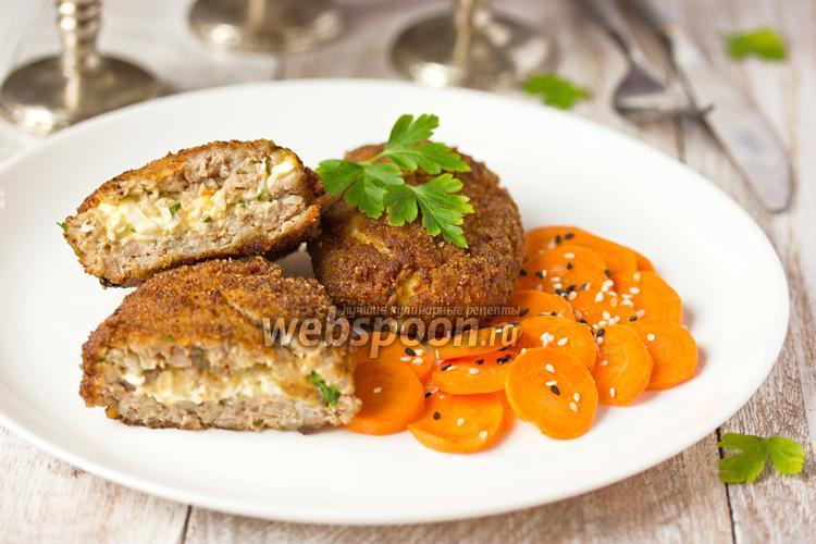 Фото Гречаники с яичной начинкой