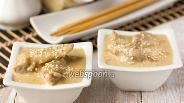 Фото рецепта Свинина в сливочно-имбирном соусе
