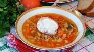Фото рецепта Щи из свежей капусты с курицей