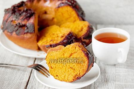 Бразильский морковный кекс