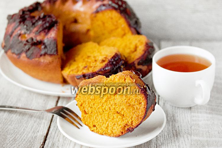 Фото Бразильский морковный кекс