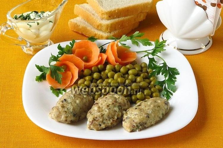 Фото Паровые колбаски из скумбрии