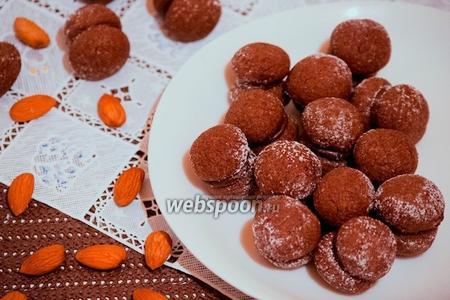Шоколадное печенье «Поцелуй дамы»