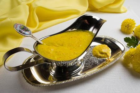 Шафрановый соус для мясных блюд