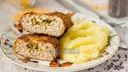 Фото рецепта Котлеты из свинины с горчичным маслом
