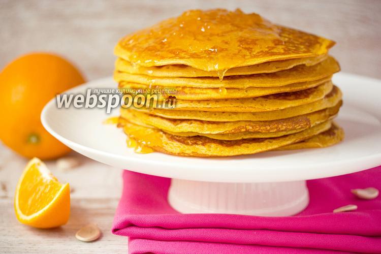 Фото Тыквенно-апельсиновые блины