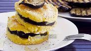 Фото рецепта Картофельные башенки с сюрпризом