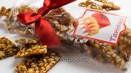 Фото рецепта Грильяж с кедровыми орешками
