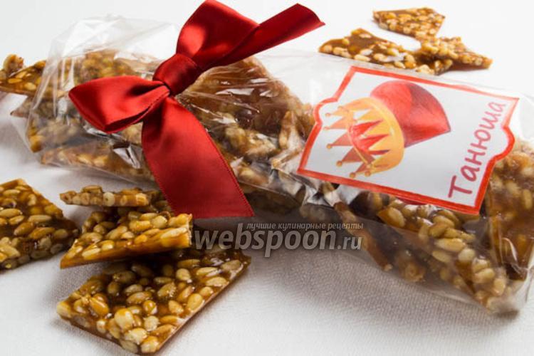 Фото Грильяж с кедровыми орешками