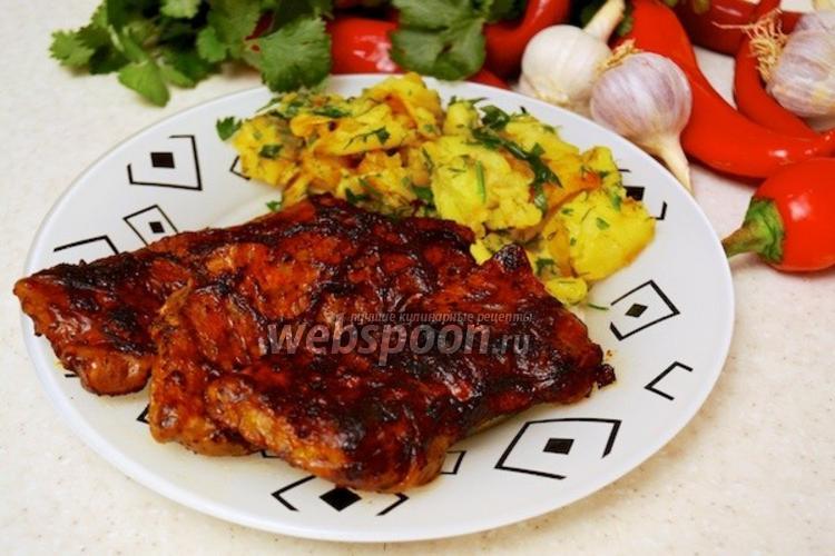 Фото Говяжье филе в свиной сетке
