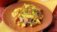 Фото рецепта Картофель, тушёный с уткой