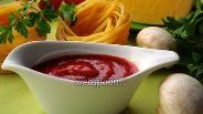 Фото рецепта Томатный соус с итальянскими травами