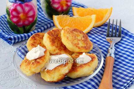 Картофельные лепёшки с тыквой и апельсином