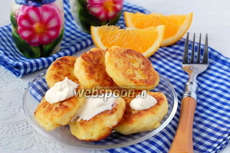 Фото Картофельные лепёшки с тыквой и апельсином