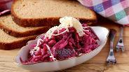 Фото рецепта Салат со свёклой и сыром