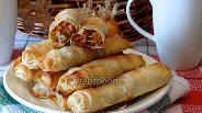 Фото рецепта Пирожки из теста фило с капустой