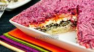Фото рецепта Салат «Под шубой» с морской капустой
