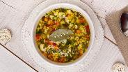 Фото рецепта Лёгкий суп с овощами