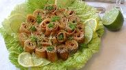 Фото рецепта Закуска из печени трески