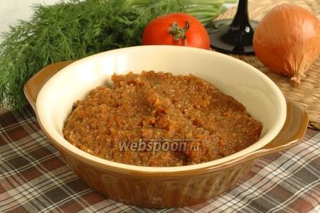 Луково-томатный соус