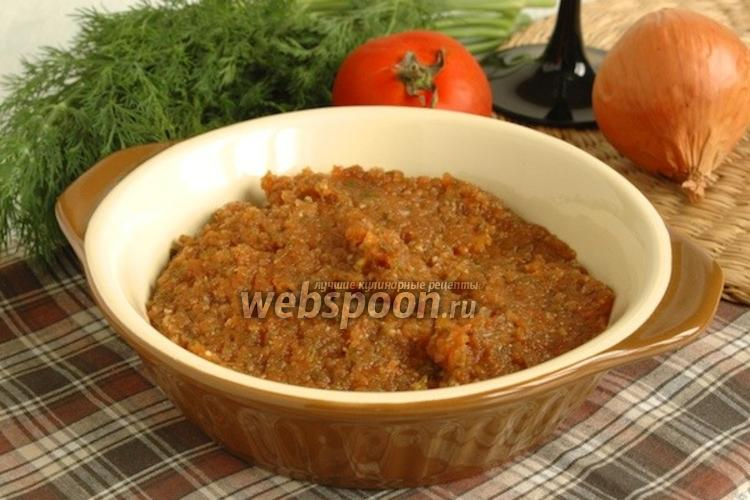 Фото Луково-томатный соус