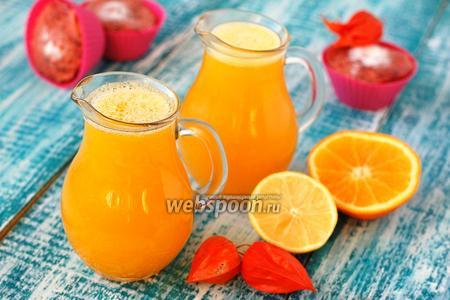 Напиток из тыквы