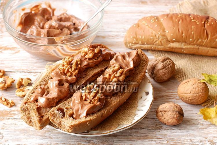 Фото Шоколадно-ореховая паста