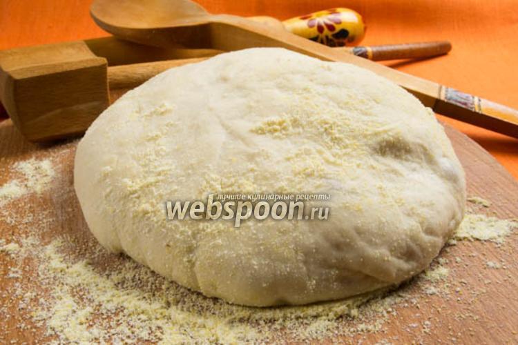 Фото Тесто для пиццы на минеральной воде
