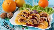 Фото рецепта Салат со свёклой и апельсином