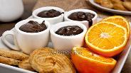 Фото рецепта Шоколадный крем с клементинами