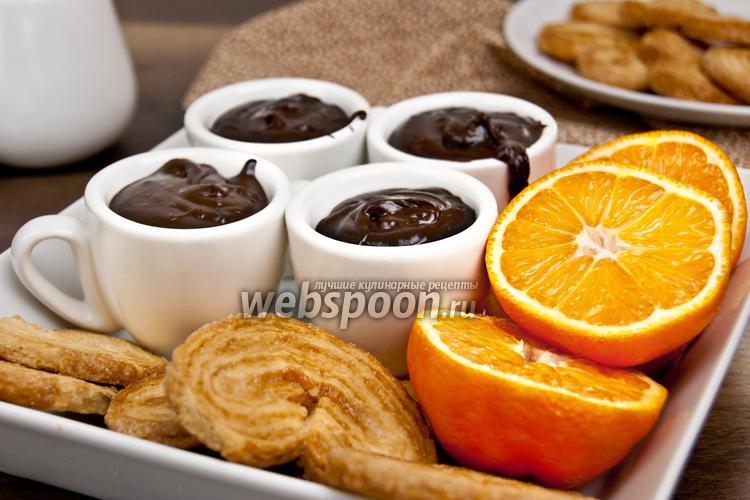 Фото Шоколадный крем с клементинами