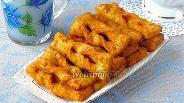 Фото рецепта Хворост картофельный