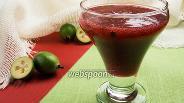Фото рецепта Фейхоа с клюквой в сахаре