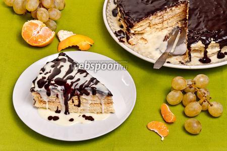 Торт «Наполеон по-королевски»