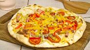 Фото рецепта Пицца немецкая