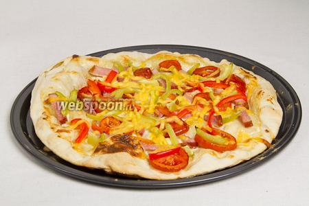 Немецкая пицца готова!
