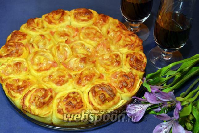 Фото Ролл-пицца по-французски