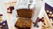 Фото рецепта Морковный кекс с орехами