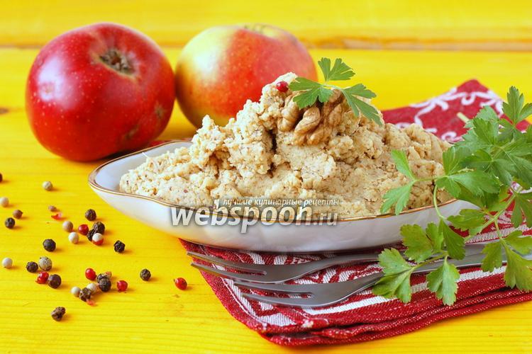 Фото Паштет из копчёной скумбрии и орехов