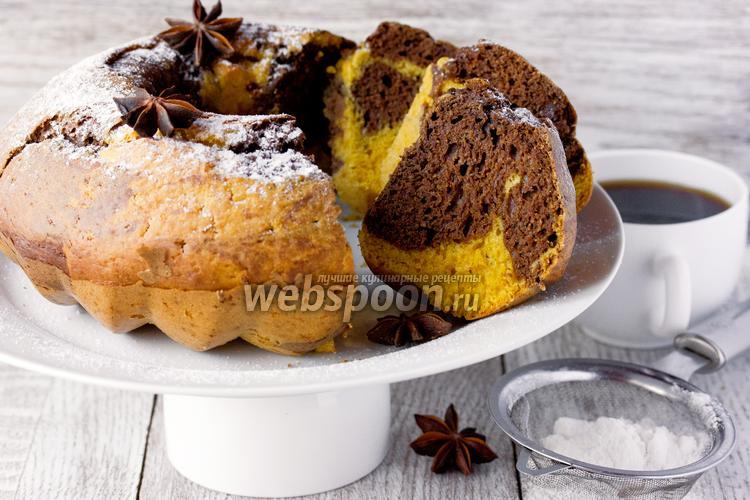Фото Тыквенно-шоколадный кекс